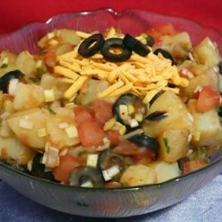 Hot Mexican Potato Salad recipe