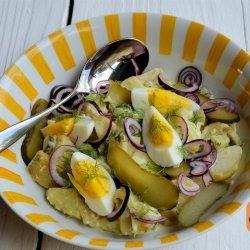 Dill Pickle Potato Salad recipe