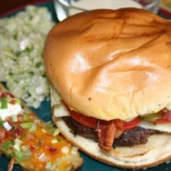 Denny's Bacon Caesar Burger recipe