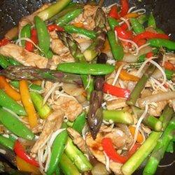 Stir-Fried Pork in Plum and Soy Sauce recipe