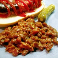 Hearty BBQ Baked Beans recipe
