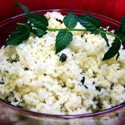 Moroccan Lemon Mint Couscous recipe