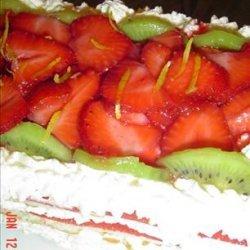Strawberry Cheesecake Torte recipe