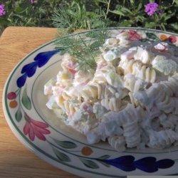 Dilled Cucumber Pasta Salad recipe