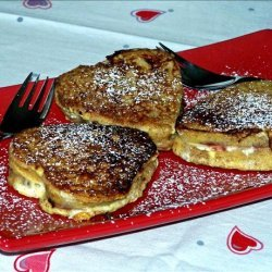 French Toast  With Raspberry, Chocolate &  Cream Cheese recipe