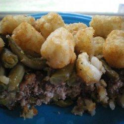 Mom's Tater Tot Meatloaf recipe