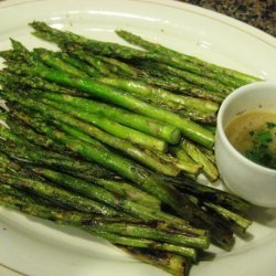 Asparagus With Vinaigrette recipe