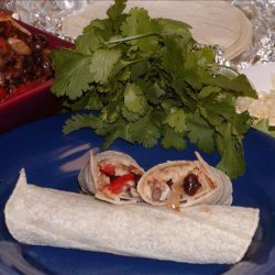 Mushroom and Black Bean Burritos recipe