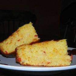 Caribbean Creamed Corn, Cornbread recipe