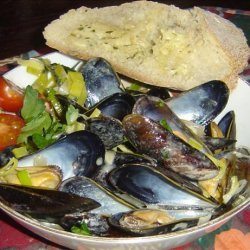 Mussels Dijonaise recipe