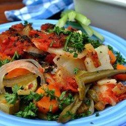 Greek Vegetable Bake recipe