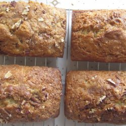 Peach Pecan Bread recipe