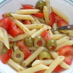 Spanish Pasta Toss recipe