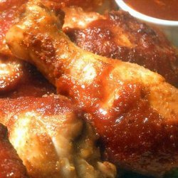 Grilled Chicken in Kentucky Bourbon Barbecue Sauce recipe