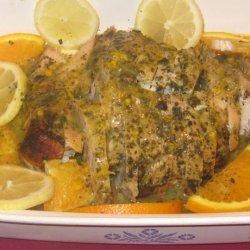 Citrus Grilled Turkey Breast (Light) recipe