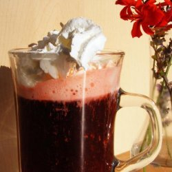 Bella Notte - Coffee With Raspberry Di Amore and Whipped Cream! recipe