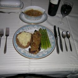 Steak Au Poivre Vert recipe