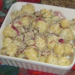 Bacon and Scallion Potato Salad recipe