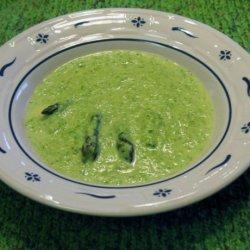 Asparagus Cream Soup recipe