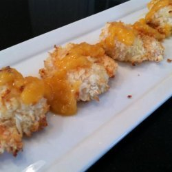 Baked Coconut Shrimp With Spicy Mango Sauce recipe