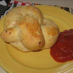 Pepperoni Soft Pretzels (Bread Machine) recipe