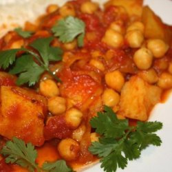 Chickpea Curry (Vegan -Pressure Cooker) recipe