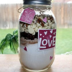 Cranberry White Chocolate Quick Bread Mix in a Jar recipe