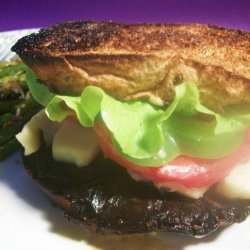 Portabella Burgers With the Works recipe