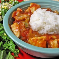 Fish and Eggplant Stew recipe