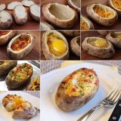 Potato Egg Bake recipe