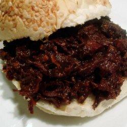 Tangy Barbecue Sandwiches recipe