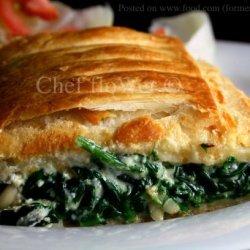 Spinach and Ricotta Rolls recipe