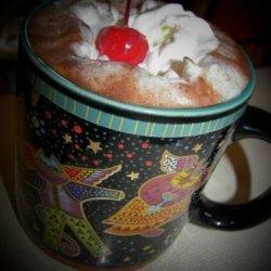 Candy Cane Hot Chocolate recipe