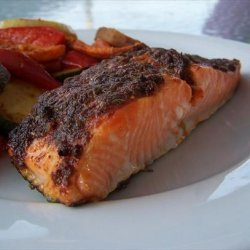 Cajun Salmon Fillets recipe