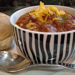 Chili With Sausage and Jalapeno recipe