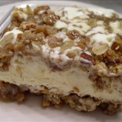 Caramel Pecan Ice Cream Dessert recipe