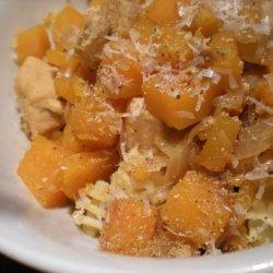 Chicken With Butternut Squash recipe