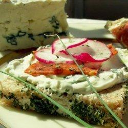 Blue Cheese, Salami and Radish Sandwiches recipe