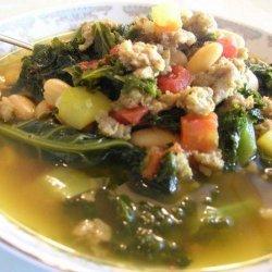 Kale and Sausage Soup recipe