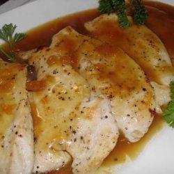Chicken Breasts With Oriental Orange Glaze recipe