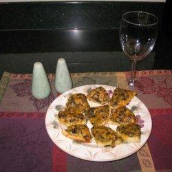 Cheesy English Muffin Appetizer recipe
