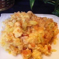 Cheesy Squash Casserole With Ritz recipe