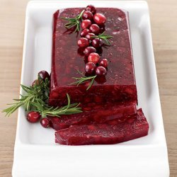 Jellied Cranberry Sauce recipe