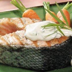 Salmon With Tarragon Sauce recipe