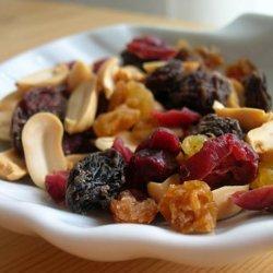 Fruit and Peanut Snack Mix recipe