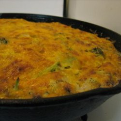 Artichoke and Broccoli Frittata / Crustless Quiche recipe