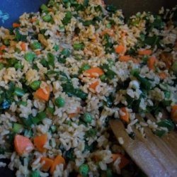 Greens (Fried) Rice recipe