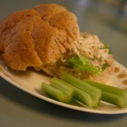 Easy Quick Delicious No-Mayonnaise Chicken Salad recipe