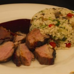 Duck Breast With Asian Sauce recipe