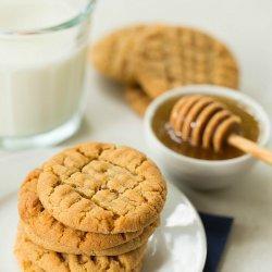 Honey Peanut Butter Cookies recipe